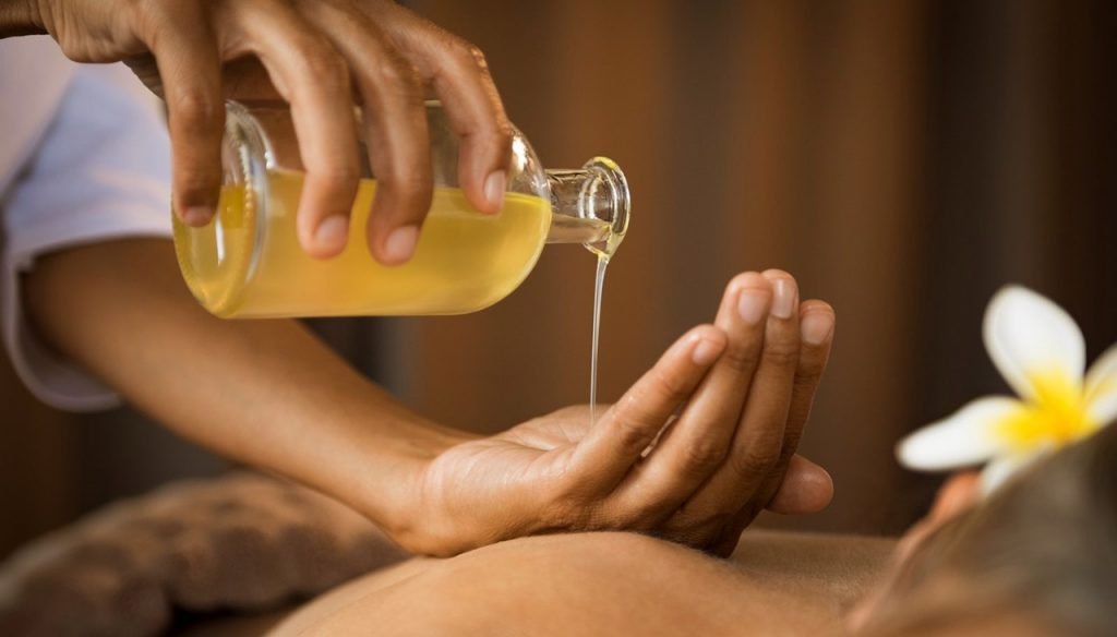 Aceite de sésamo con fines terapéuticos y estéticos
